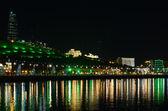 A beautiful evening. Embankment Baku. Azerbaijan. — Stock Photo