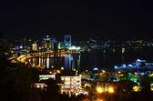 Night view of the city of Baku. Azerbaijan — Stock Photo