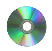 CD on a white background — Stock Photo