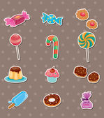 Candy stickers — Stock Vector