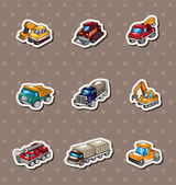 Truck stickers — Stock Vector
