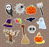 Halloween stickers — Stock Vector