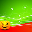 Royalty-Free Stock Vector Image: Vector illustration on a Halloween theme