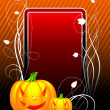 Vector illustration on a Halloween theme — Stock Vector #12081437