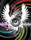 Wings of music — Vecteur