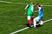 Młodych piłkarzy — Zdjęcie stockowe