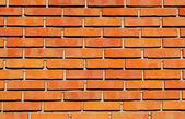 Pattern of red bricks — Stock Photo