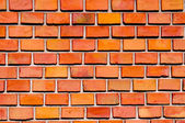Red brick laid in a pattern — Stock Photo