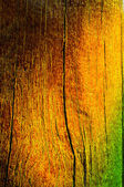 Wood of colors from red to green — Stock Photo