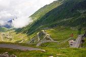 Estrada de passagem de alta montanha — Fotografia Stock