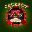 Jackpot background — Vettoriali Stock