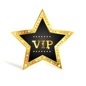 VIP star — Stock Vector