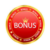 Red bonus — Stock Vector