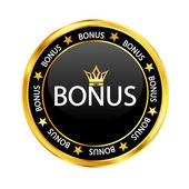 Black bonus — Stock Vector