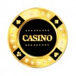 Casino chip — Stock Vector #11038237