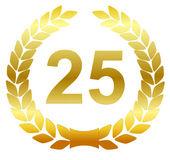 月桂樹の花輪 - 25 — ストックベクタ