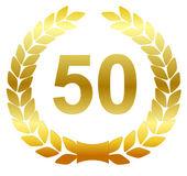 Laurel wreath - 50 — Stock Vector