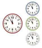 Clock time pass — Vector de stock