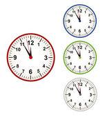 时钟时间传递 — 图库矢量图片