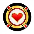 Casino chip — Stock Vector #11531186