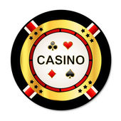 Casino chip — Stock Vector