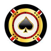 Casino chip — Stock Vector