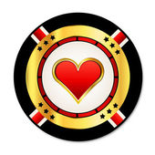 Casino Chip — Stockvektor
