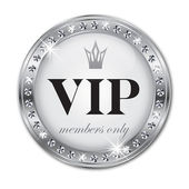 VIP label — Stock Vector