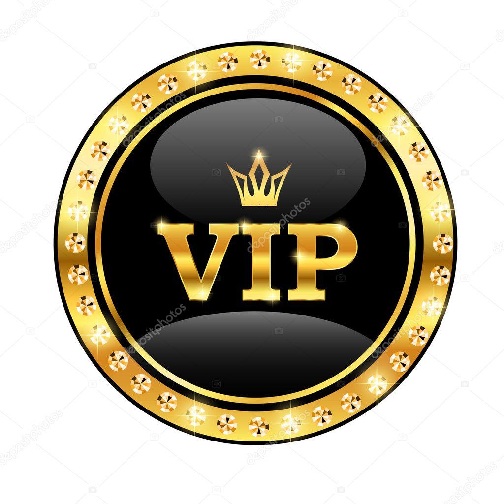 vip con una corona vector de stock kristina2211 11545213. Black Bedroom Furniture Sets. Home Design Ideas