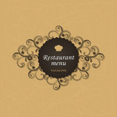 Conception de menus de restaurant — Vecteur