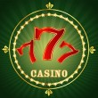 Stock Vector: Casino 777