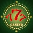 Casino 777 — Stock Vector
