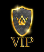 Shield. VIP. — Stock Vector