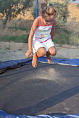 Trampoline — Stock Photo