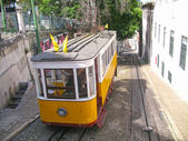 Tranvía en lisboa — Foto de Stock