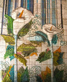 Ceramic tiles in Lisbon — Stock Photo