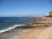 リスボンでのビーチ — ストック写真