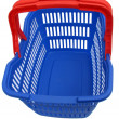 Blue shopping basket — Stock Photo #10930534
