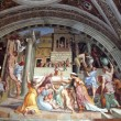 Fresco in Vatican — Stock Photo