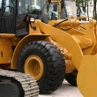 Stock Photo: Backhoe