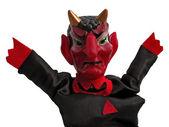 Devil puppet — Stock Photo