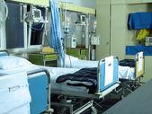 Hospital beds — Stock Photo
