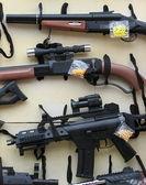 Waffen spielzeug — Stockfoto