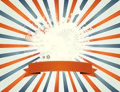 старинные лоскутные четвертое июля — Cтоковый вектор