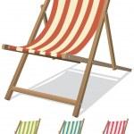 Beach Chair Set — Stock Vector #11511237