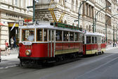 Old tram — Stock Photo