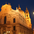 Church at night — Lizenzfreies Foto