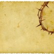 Crown of Thorns on vintage background — Stock Photo