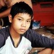 Stock Photo: Myanmar boy