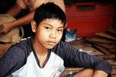 Myanmar boy — Stock Photo